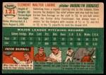 1954 Topps #121  Clem Labine  Back Thumbnail