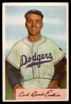 1954 Bowman #10 xINK Carl Erskine  Front Thumbnail