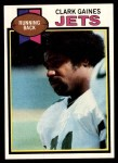1979 Topps #206  Clark Gaines  Front Thumbnail