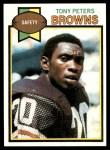 1979 Topps #506  Tony Peters  Front Thumbnail