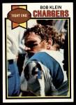1979 Topps #51  Bob Klein  Front Thumbnail
