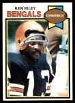 1979 Topps #205  Ken Riley  Front Thumbnail