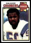 1979 Topps #356  Don Goode  Front Thumbnail