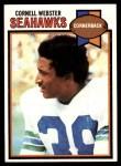 1979 Topps #349  Cornell Webster  Front Thumbnail