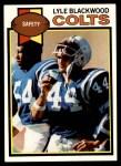 1979 Topps #299  Lyle Blackwood  Front Thumbnail