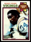 1979 Topps #470  Rickey Young  Front Thumbnail