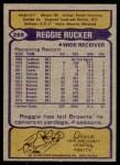 1979 Topps #268  Reggie Rucker  Back Thumbnail