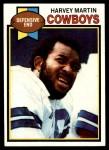 1979 Topps #510  Harvey Martin  Front Thumbnail