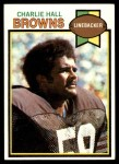 1979 Topps #73  Charlie Hall  Front Thumbnail