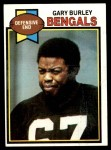 1979 Topps #55  Gary Burley  Front Thumbnail