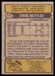 1979 Topps #171  Doug Nettles  Back Thumbnail