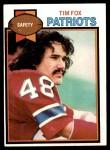 1979 Topps #516  Tim Fox  Front Thumbnail
