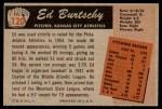 1955 Bowman #120  Ed Burtschy  Back Thumbnail
