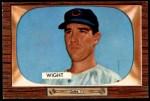 1955 Bowman #312  Bill Wight  Front Thumbnail