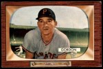 1955 Bowman #163  Sid Gordon  Front Thumbnail