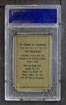 1952 Berk Ross  Ted Williams  Back Thumbnail