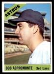 1966 Topps #352  Bob Aspromonte  Front Thumbnail