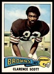 1975 Topps #164  Clarence Scott  Front Thumbnail