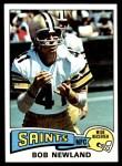 1975 Topps #269  Bob Newland  Front Thumbnail
