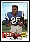 1975 Topps #170  Lydell Mitchell  Front Thumbnail