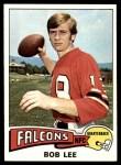 1975 Topps #189  Bob Lee  Front Thumbnail