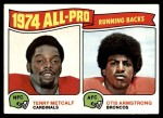 1975 Topps #210   -  Terry Metcalf / Otis Armstrong All-Pro Running Backs Front Thumbnail