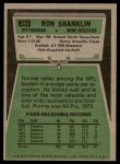 1975 Topps #264  Ron Shanklin  Back Thumbnail