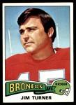 1975 Topps #158  Jim Turner  Front Thumbnail