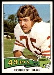 1975 Topps #180  Forrest Blue  Front Thumbnail