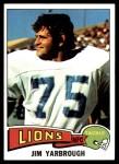 1975 Topps #279  Jim Yarbrough  Front Thumbnail