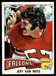 1975 Topps #298  Jeff Van Note  Front Thumbnail