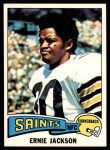 1975 Topps #323  Ernie Jackson  Front Thumbnail