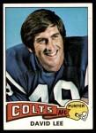 1975 Topps #361  David Lee  Front Thumbnail