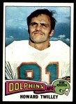 1975 Topps #128  Howard Twilley  Front Thumbnail