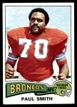 1975 Topps #45  Paul Smith  Front Thumbnail