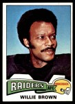 1975 Topps #95  Willie Brown  Front Thumbnail