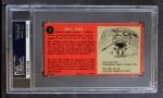 1964 Topps #7  Bill 'Red' Hay  Back Thumbnail