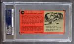 1964 Topps #102  Tim Horton  Back Thumbnail