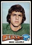 1975 Topps #307  Mike Adamle  Front Thumbnail