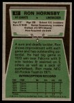 1975 Topps #87  Ron Hornsby  Back Thumbnail