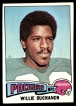 1975 Topps #286  Willie Buchanon  Front Thumbnail