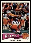 1975 Topps #34  David Ray  Front Thumbnail