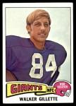 1975 Topps #336  Walker Gillette  Front Thumbnail