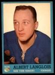1962 Topps #47  Albert Langlois  Front Thumbnail