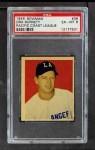 1949 Bowman PCL #36  Ora Burnett  Front Thumbnail