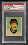 1949 Bowman PCL #2  George Metkovich  Front Thumbnail