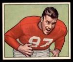 1950 Bowman #107  Leo Nomellini  Front Thumbnail