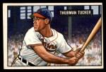 1951 Bowman #222  Thurman Tucker  Front Thumbnail