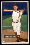 1951 Bowman #158  Chuck Diering  Front Thumbnail