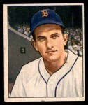 1950 Bowman #243 CR Johnny Groth  Front Thumbnail
